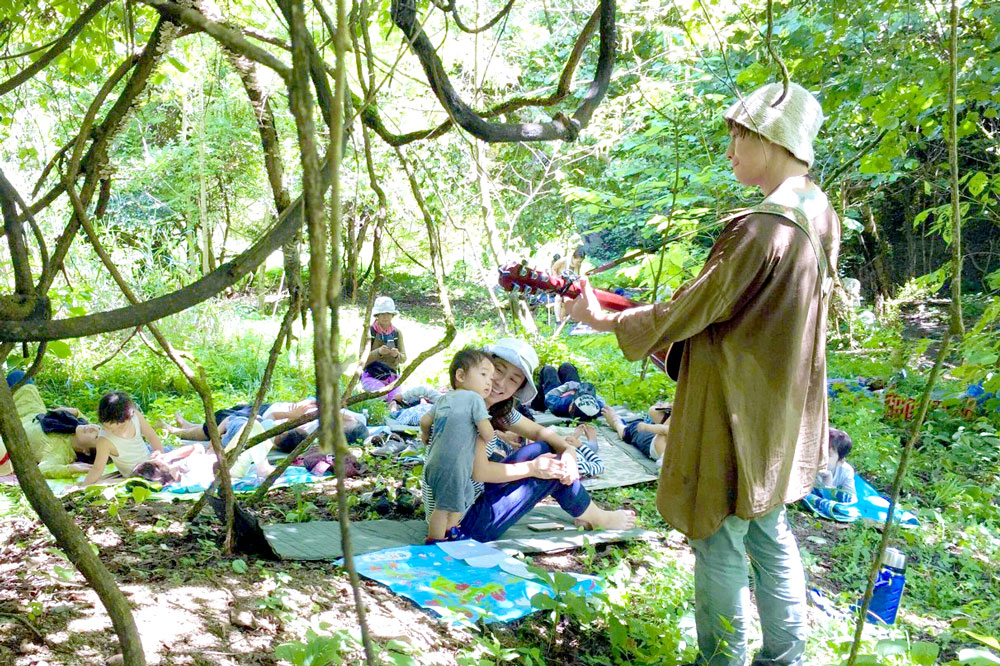 茨城県内在住の親子限定!つくば森のごろんコンサート
