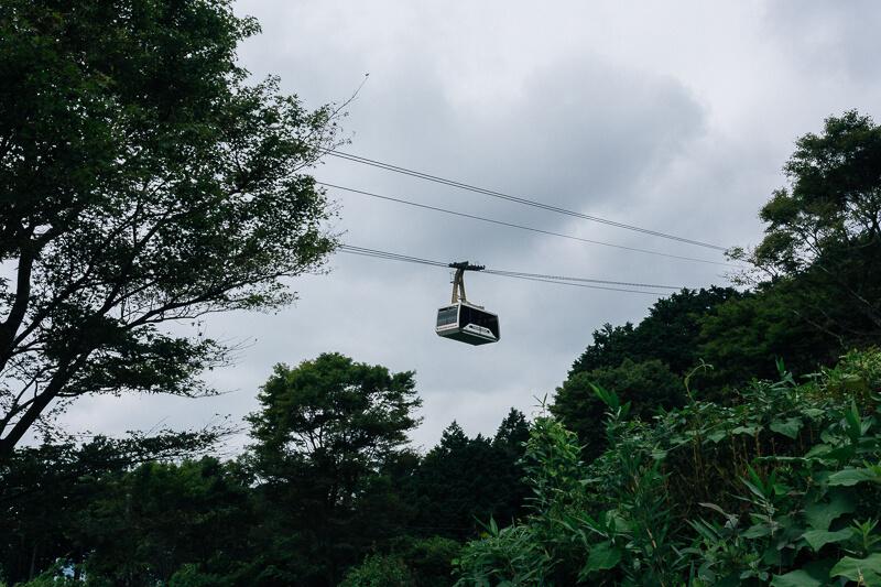 筑波山登山 おやつ石コース ロープウェイ
