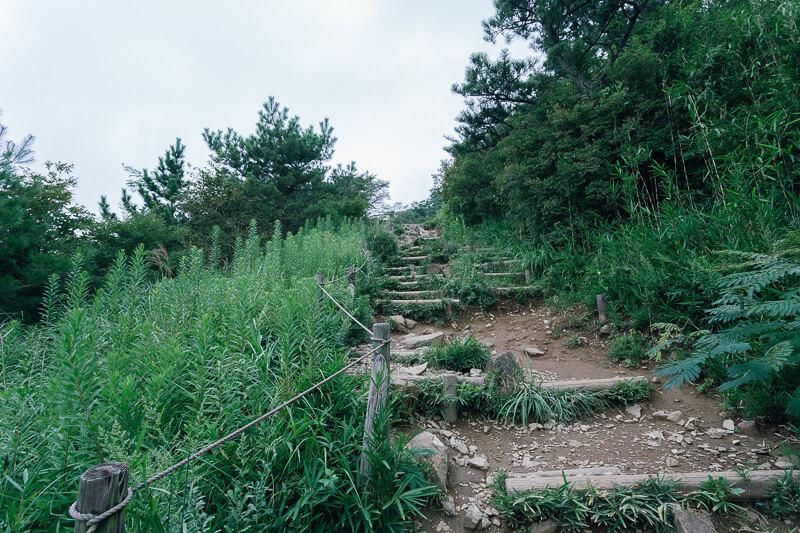 筑波山登山 おたつ石コース
