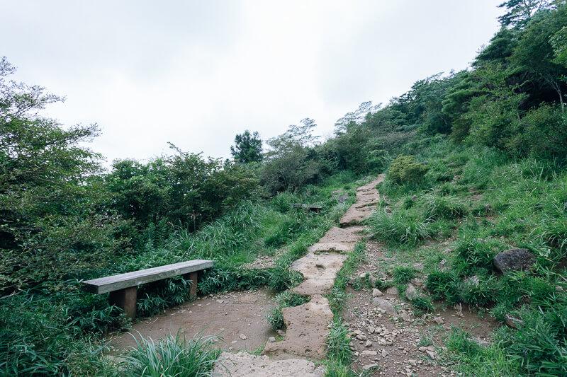 筑波山登山 おたつ石コース 見晴らし