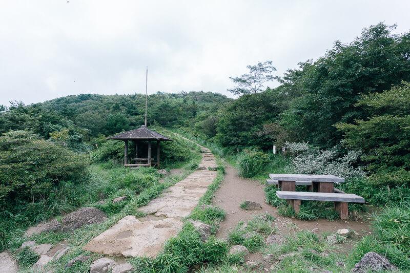 筑波山登山 おたつ石コース つつじヶ丘高原