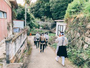 筑波山神社禅定の様子