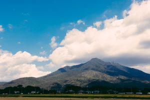 筑波山遠景