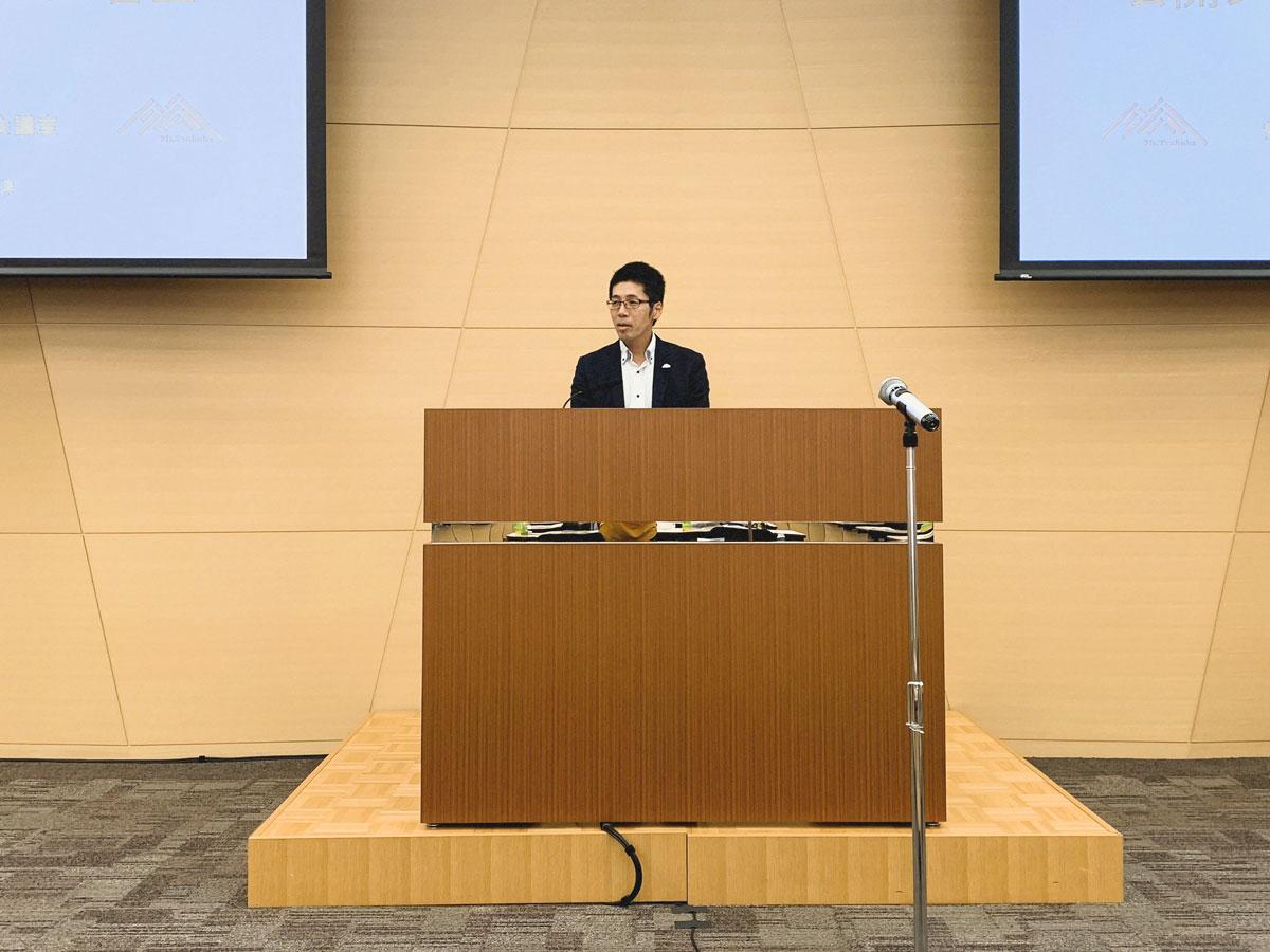 審査委員長を務めた株式会社Co-Lab代表の堀田誉さん