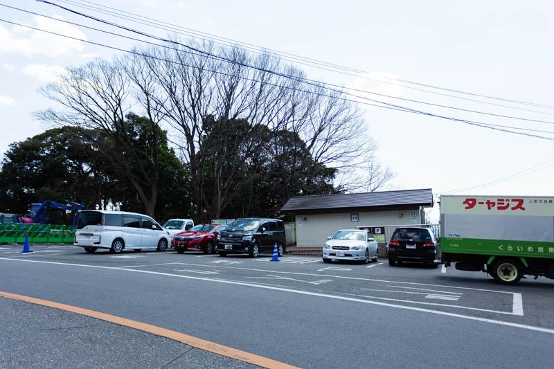 市営筑波山第2駐車場