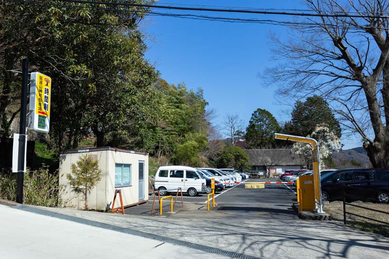 筑波山神社駐車場