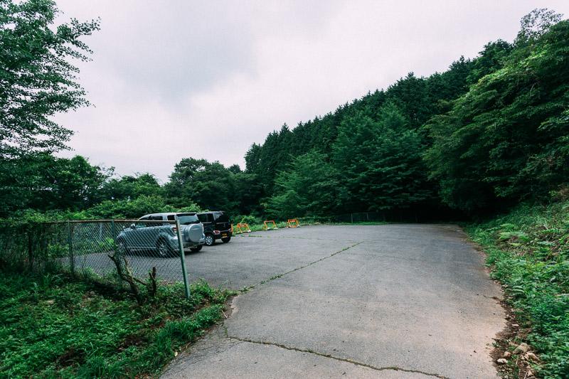 筑波高原キャンプ場駐車場
