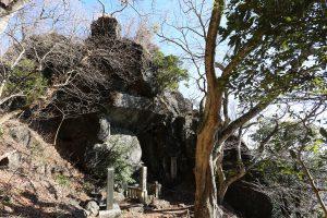 筑波山の立身石