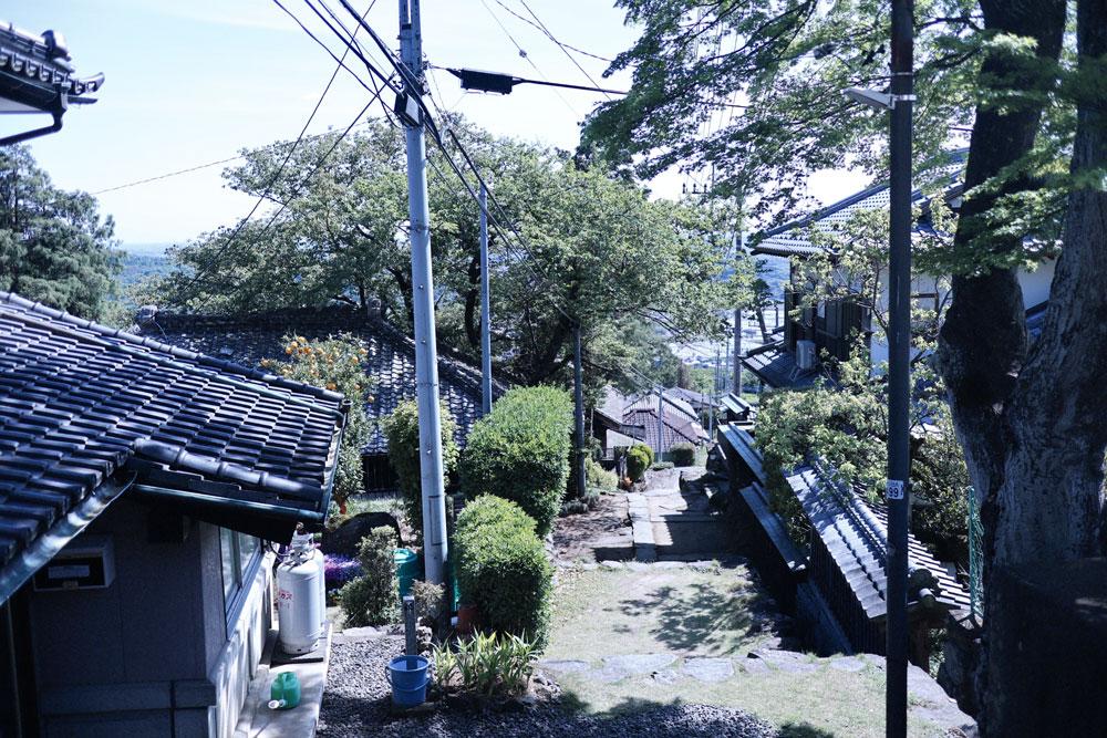 筑波山麓のつくば道