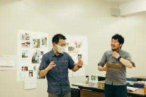 原忠信さん(写真右)と和田幾久郎さん(写真左)
