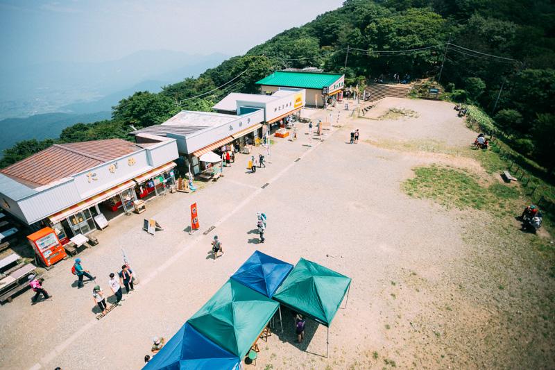 筑波山・御幸ヶ原で開催された「納涼 山の日 筑波山」の様子