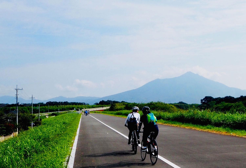 小貝川沿いサイクリングのイメージ