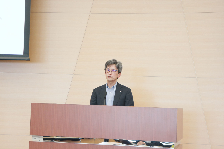 茨城県営業戦略部観光物産課課長の海老原二良氏