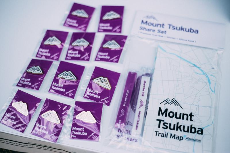 THE Mount Tsukuba shopのアイテムたち