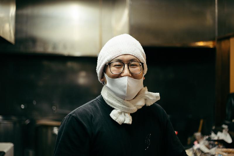 麺屋 京介 店主の笠倉圭太さん